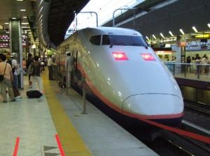 E1系MAXとき号・東京駅にて