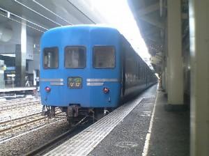 寝台特急なは号・京都駅