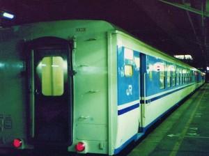 快速ムーンライト高知号の12系客車