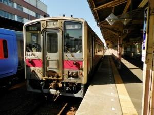 快速ノサップ号・釧路駅