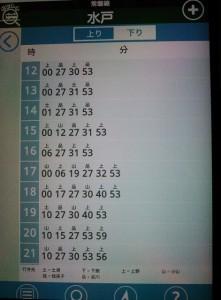 どこトレ・駅時刻表