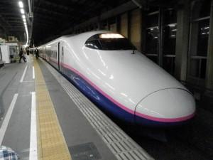 E2系J10編成の新幹線とき