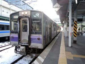 快速アテルイ・盛岡駅到着