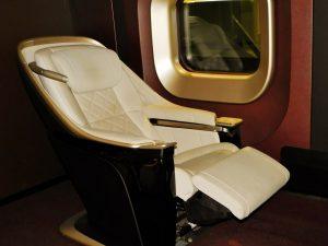 E7系のグランクラス座席