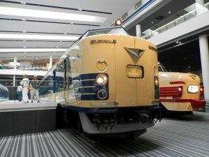 京都鉄道博物館展示の特急月光