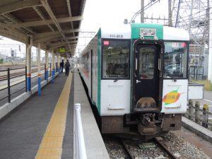 快速最上川・酒田駅にて-ark