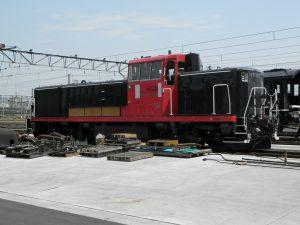 嵯峨野トロッコ列車の予備機関車